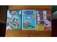 Selection of kid's dvd's