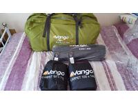 brand-new vango ravello 500 airbeam tent