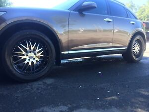 "20"" Rims and Tires."