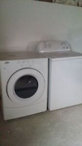 1 year old Inglis HE Front Load Washer & Whirlpool  Dryer