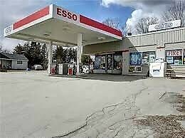 Esso gas station for sale with property ////// also for lease