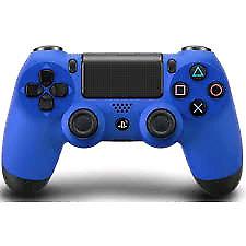 Manette ps4 bleu