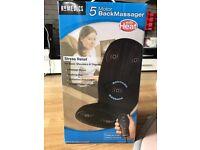 Brand new! 5 motor back massager - HoMedics