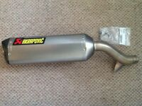 Akrapovic exhaust system