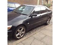 Lexus is200 black 2o2 any door complete + window handle motor 98-05 breaking spares is 200 is300