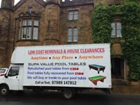 Man and large van work taken at short notice