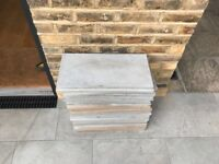 High quality Marshalls Sandstone Paving - Sawn Verdure - Antique Silver Multi