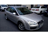 Silver Ford Focus 1.6 Petrol, 5 Doors, LOW MILAGE, MOT, ALLOYS, px