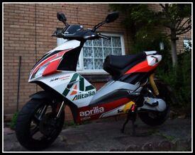 Aprilia Sr50 r Moped, runner .. aerox .. piaggio .. yamaha