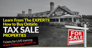 Ontario tax sale properties City of Cambridge