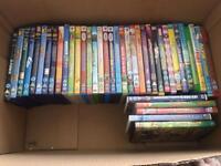 40 children's dvds