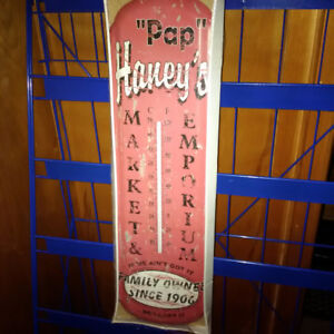 Pap Haney's Advertising Thermometer - $22