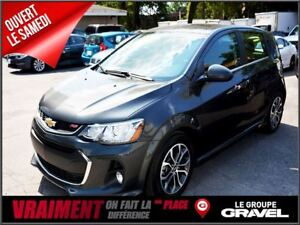 2017 Chevrolet Sonic LT GROUPE RS TOIT OUVRANT