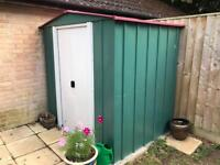 Metal shed 6x5 ft