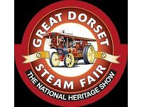 STAFF WANTED - Catering Staff @ Great Dorset Steam Fair