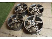 "20"" 5 Spoke Alloy wheels fits Mercedes ML GL AMG 5x112"