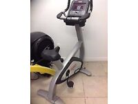 Star Trac Pro Upright Exercise Bike Cycle - Commercial Grade Gym