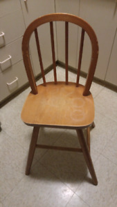 IKEA Solid wooden child's chair