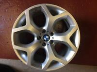 GENUINE BMW 214 M SPORT X6 REAR 11J 20 INCH WHEEL ALLOY, E70, E71 X5, X6,E72,E53