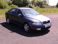 SKODA OCTAVIA ELEGANCE ONLY 44000 MILES 12 MONTHS M.O.T 6 MONTHS WARRANTY (FINANCE AVAILABLE)
