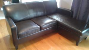 Petit divan sofa sectionnel