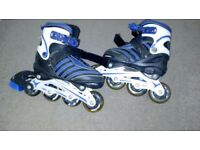 Rollerblades adjustable size 13 - 2 (31-34)