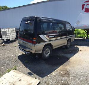 Mitsubishi Delicia Turbo, Van