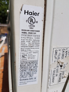 Window Air Conditioner - Haier 10000 BTU