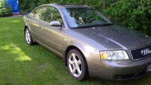 2002 Audi A6 Quattro Sedan