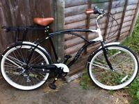 Gentleman's cruiser bicycle