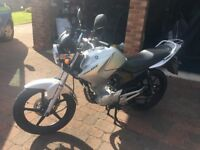 Yamaha YBR 125cc (Silver) Low Mileage!