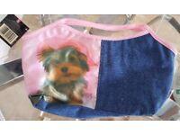 Brand New Children's Small Bag 'Dog motif'