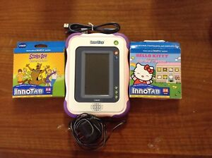 Vtech Innotab  With charger and 2 games