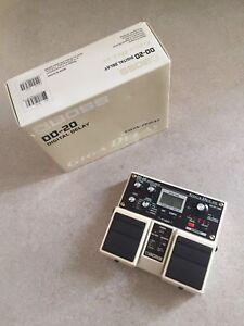 BOSS DD-20 Giga Delay Pedal
