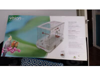 Vision L11 Bird Cage new in box suitable for cockatiels love birds etc