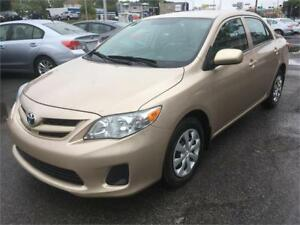 2012 Toyota Corolla CE A/C 49,000KM SEULEMENT BLUETOOTH AUTO