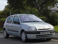Renault Clio 1.6 Alize 5dr£799 p/x welcome ONLY 52K,LONG MOT,LOVELY CAR