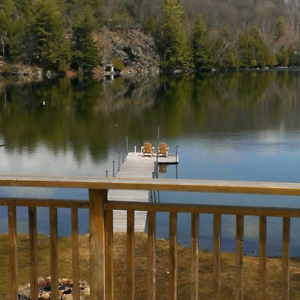 Muskoka cottage rental Available August 26 to September 2