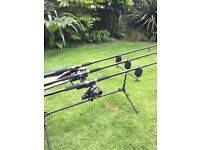 Fishing rods and extras