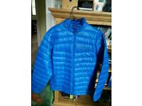 Columbia down feather jacket