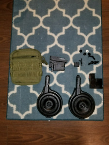 Milsig tempest drum mags paintball magfed
