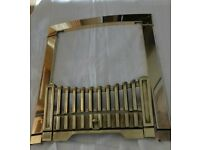 Brass Trim and Fret for gas or electric fire.