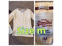 Super dry jumper ladies size m