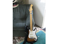50s Vibe Squire Strat Guitar