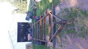 20 ft camper trailer frame