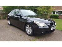 2005, BMW E60 525i SE, Black, Automatic, Petrol, 1 owner, FSH.