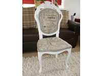 Beautiful French Style Bedroom/Dressing Room Chair