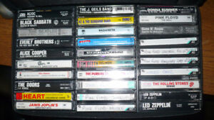 30 rock and pop cassettes