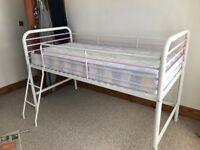 Next girls midi sleeper bed