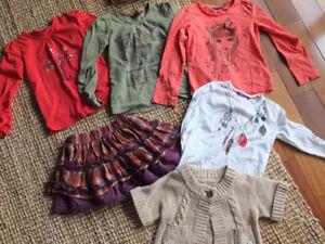 Vêtements Mexx fille 5-6 ans couleurs d'automne